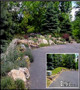 Living RockRetaining Wall 410x316