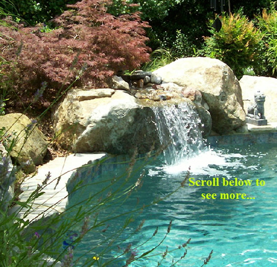 Maryland custom inground Swimming Pools | Pool Installation Md