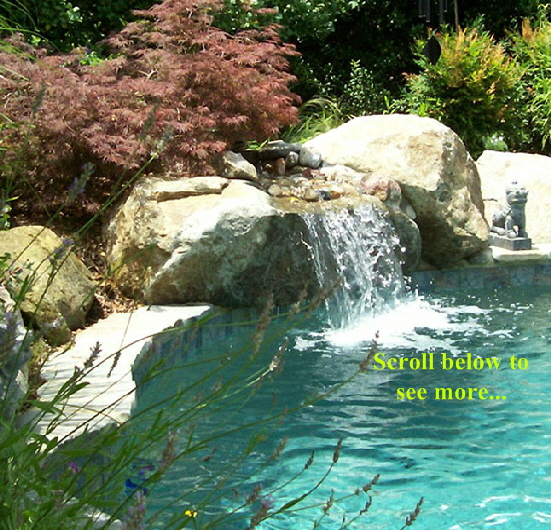 Custom Swimming Pool Waterfalls 648x985