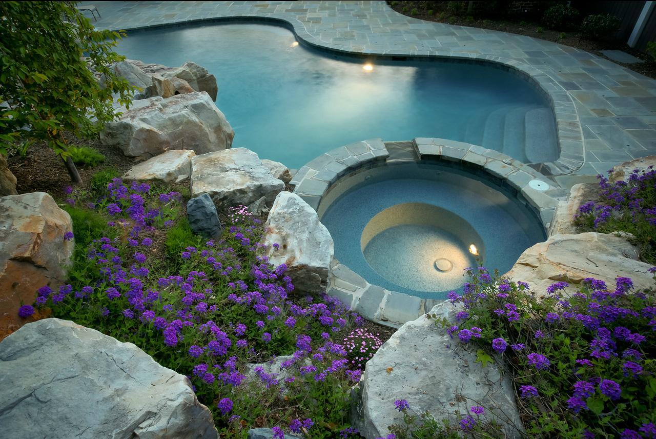 Maryland custom inground Swimming Pools Pool Installation Md