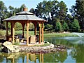 <b>Natural Pond with gazebo</b><br>Anyone can have waterfront property!