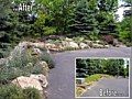 <b>Rock Wall Plantings</b><br>Natural rock garden retaining wall in Annapolis Maryland