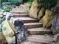 <b>Living Wall Steps</b><br>custom retaining wall steps picture in severna park maryland.