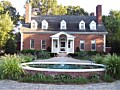 <b>Picture of front fountain house</b><br>Fountain, pavers, driveway in eatern shore maryland.